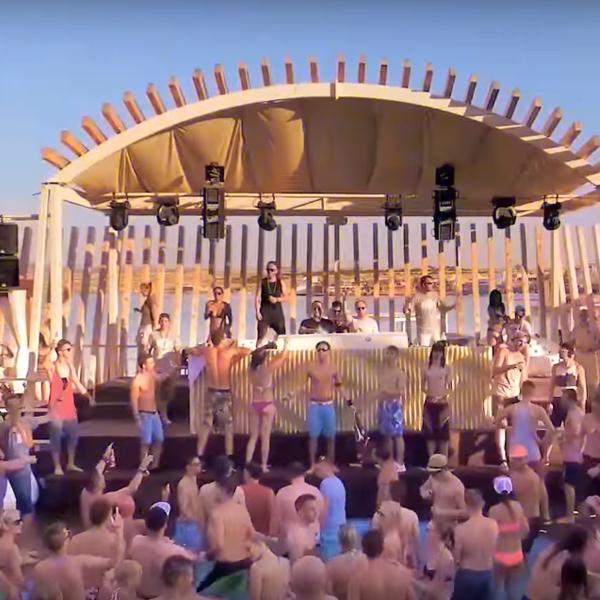 Promo video for Hard Island festival