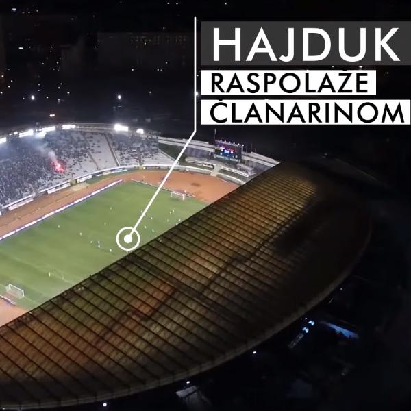 Naš Hajduk - s riječi na djela!